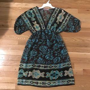 ❗️SOLD ❗️Sheer Dress w black slip from Francesca's